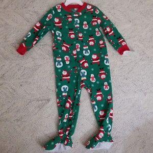 2t Fleece Christmas pajamas